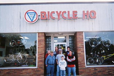 Bicycle Headquarters storefront